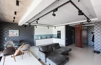 Гостиная в оригинальном дизайне