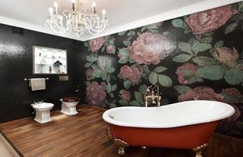 Ванная комната в красивой плитке