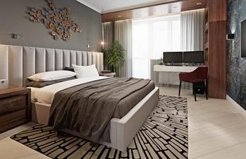 Спальня в современном дизайне