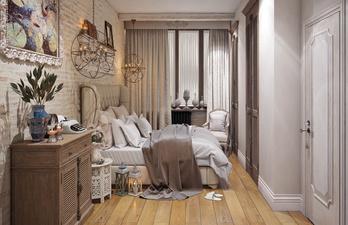 Уютная светлая спальня в современном дизайне