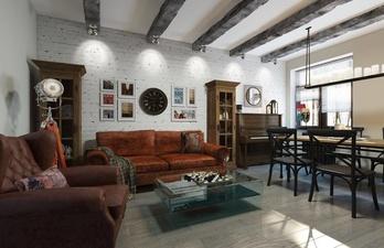Гостиная со светлыми стенами