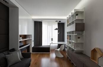 кабинет в современном стиле
