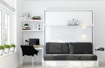 Превью однокомнатной квартиры в стиле минимализм 52 м2