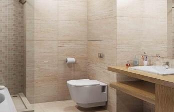 ванная комната с унитазом